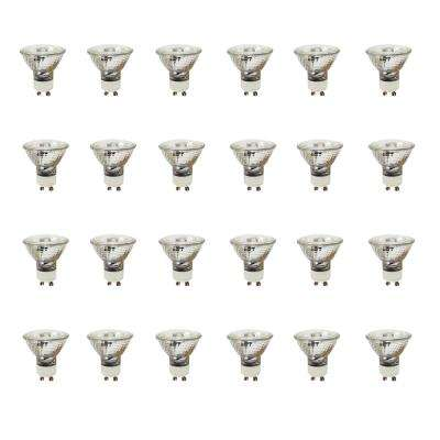 50-Watt Halogen MR16 GU10 Base Light Bulb (24-Pack)