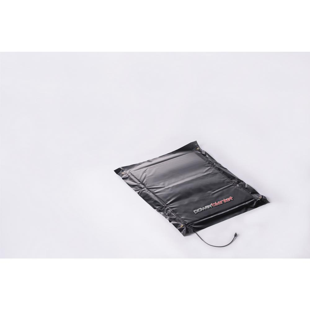 powerblanket 3 ft. x 4 ft. Ground Thawing Blanket, Black