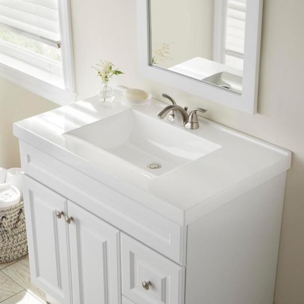 X 22 In D Cultured Marble Vanity Top