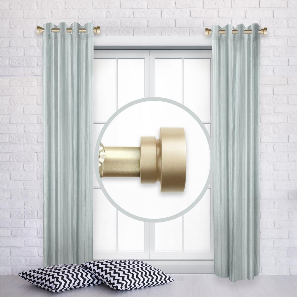 Rod Desyne 1 Inch Side Window Curtain Rod Adjustable 12-20
