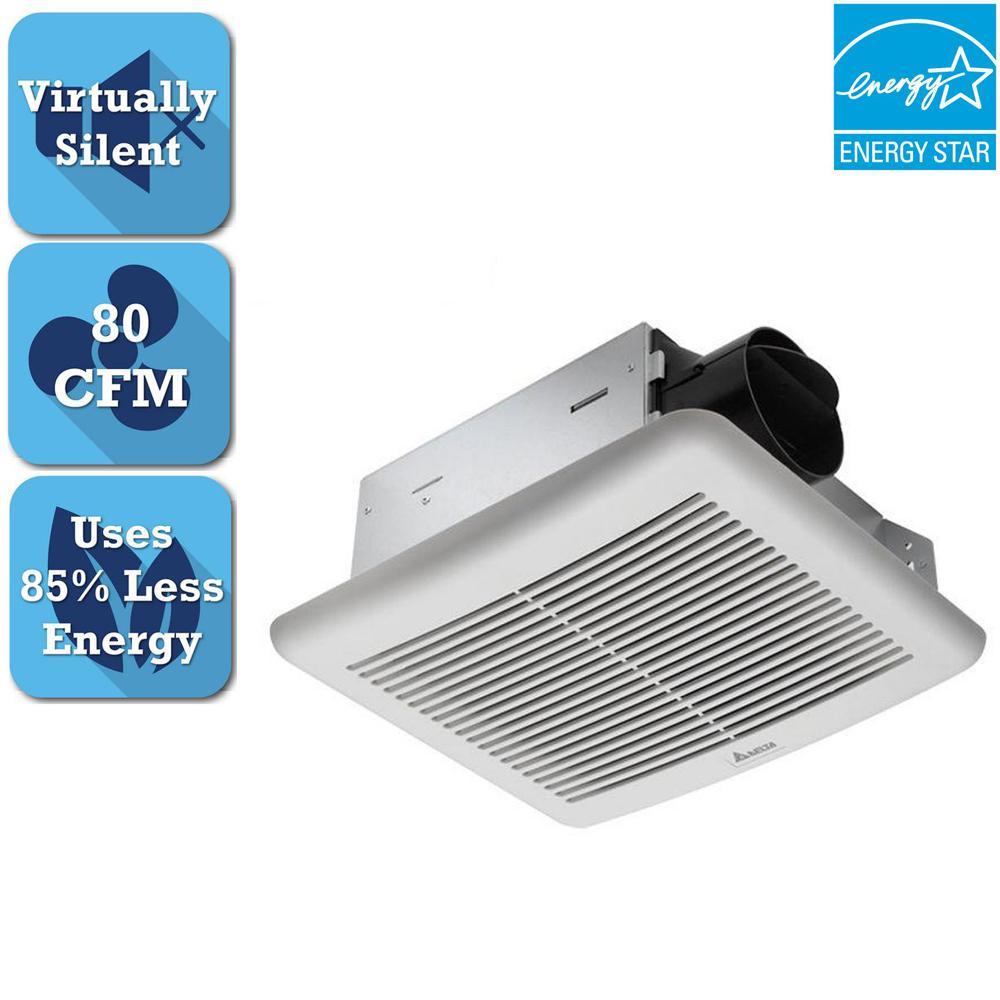 Delta Breez Slim 70 Cfm Ceiling Bathroom Exhaust Fan