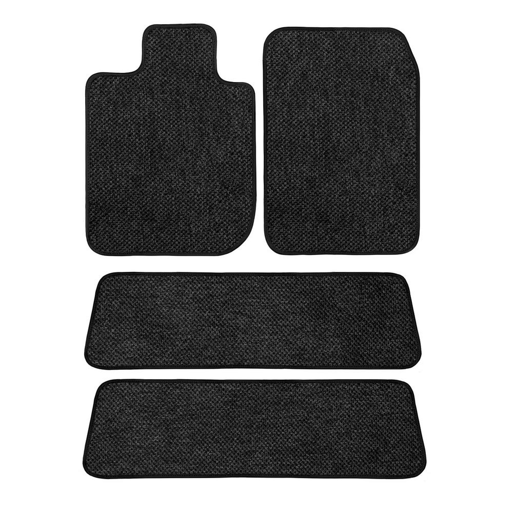 Toyota Floor Mats >> Ggbailey Toyota Highlander Charcoal All Weather Textile Car Mats Custom Fits 2014 2019 Driver Passenger 2 And 3 Row 4 Piece