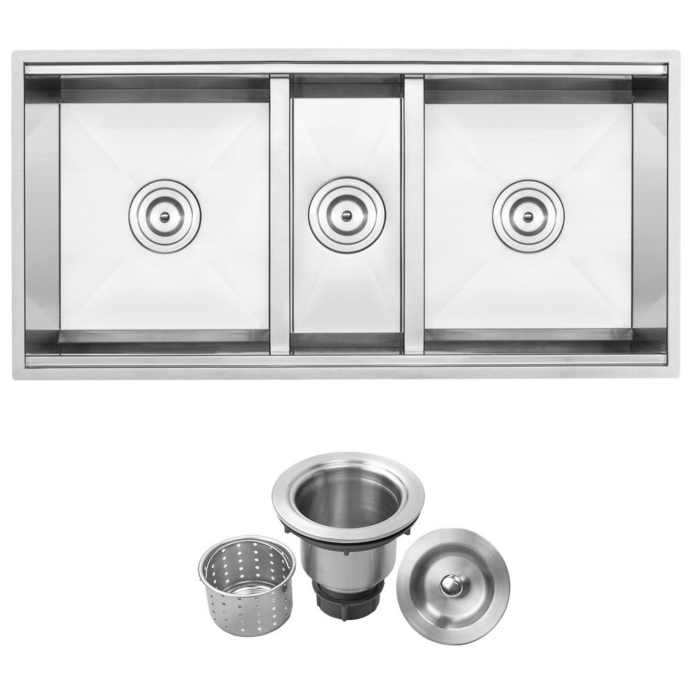 Shallow Kitchen Sink Strainer
