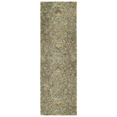 Chancellor Taupe 3 ft. x 8 ft. Runner Rug