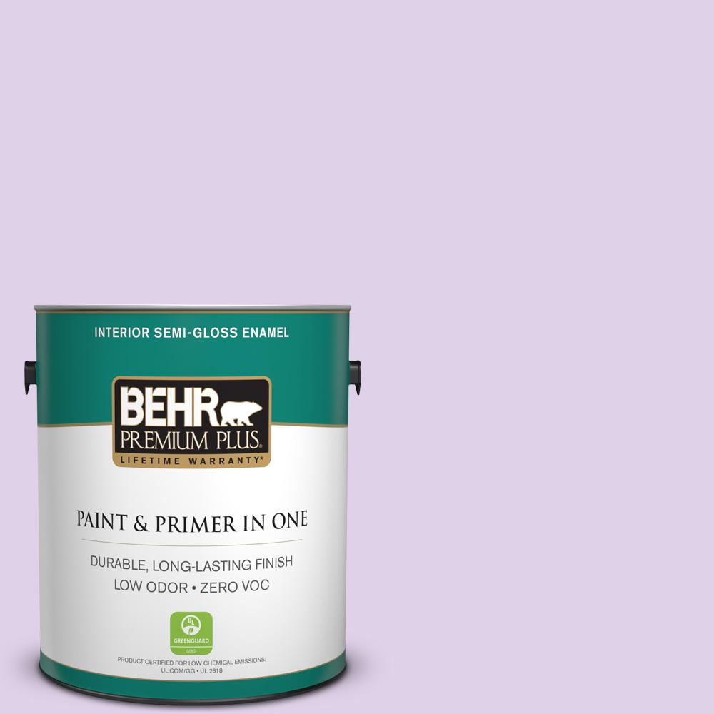 1-gal. #P570-1 Teary Eyed Semi-Gloss Enamel Interior Paint