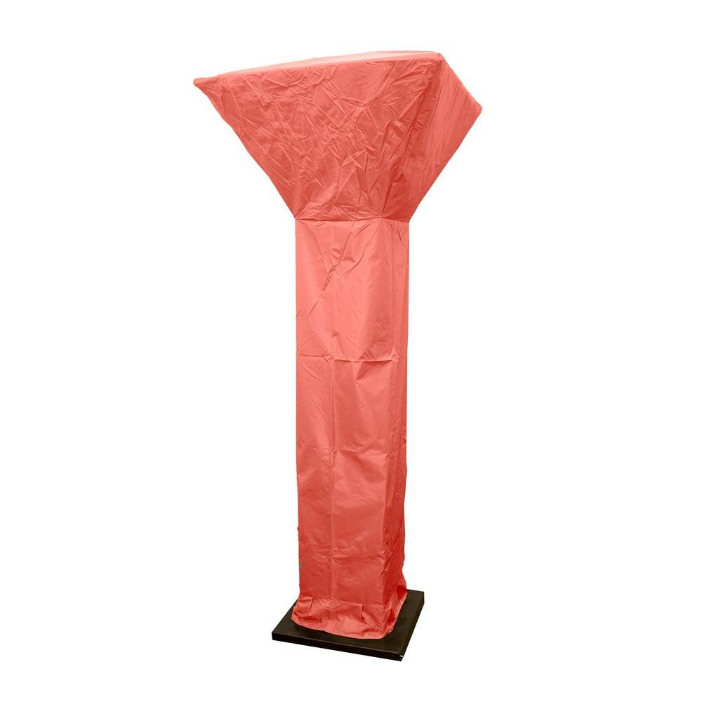 92 in. Heavy Duty Paprika Square Commercial Heater Cover for 35