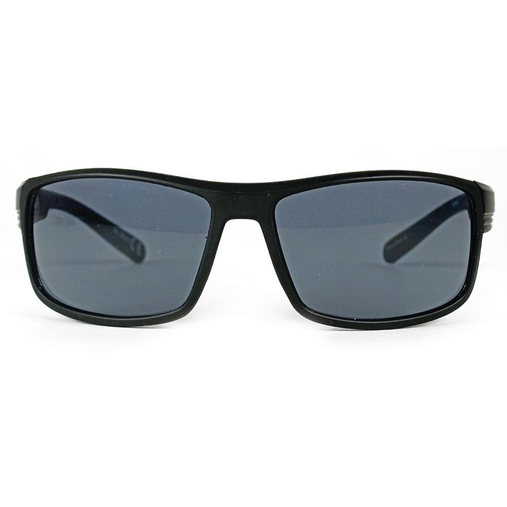 Black Square Polarized Sunglasses