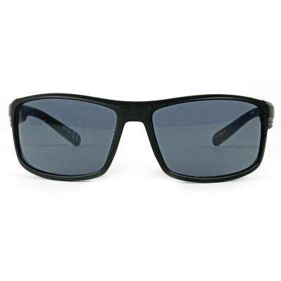 Black Square Polarized Sunglasses