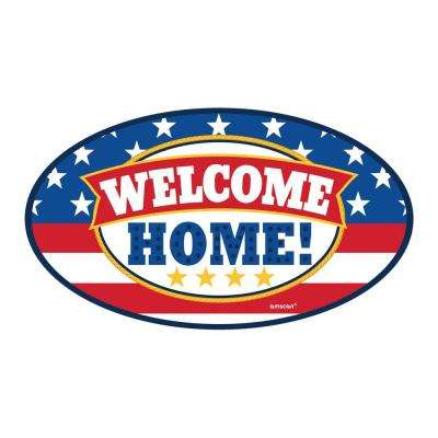4 in. x 6 in. Welcome Home Car Magnet (3-Pack)