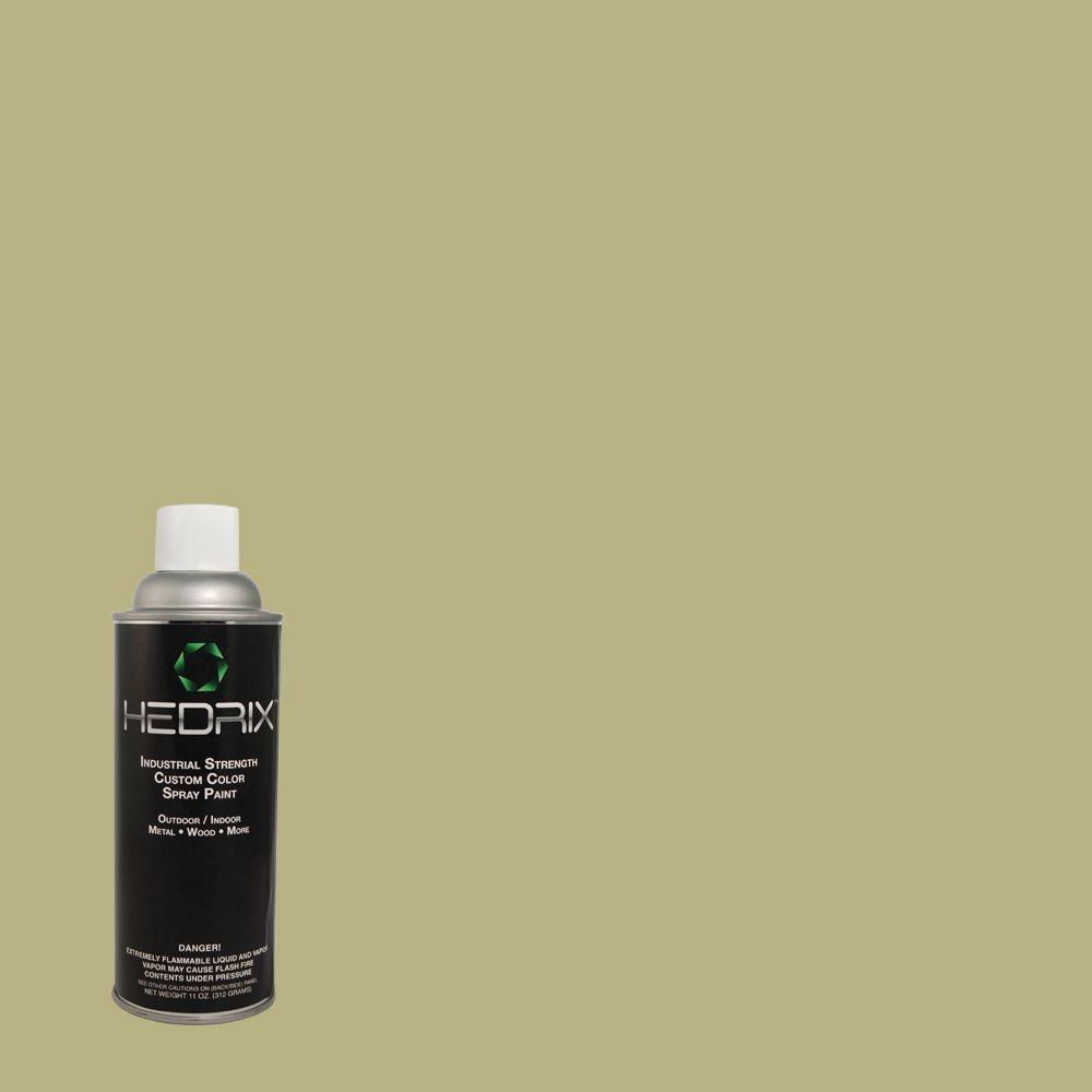 Hedrix 11 oz. Match of Ryegrass 390F-5 Gloss Custom Spray Paint (2-Pack)