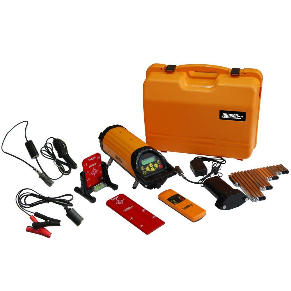 Johnson Electronic Self-Leveling Pipe Laser