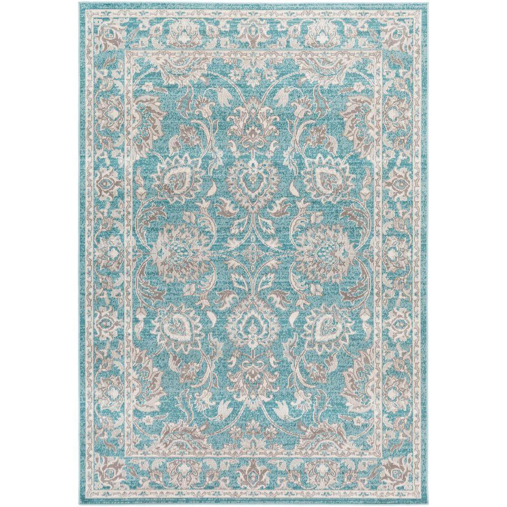 Artistic Weavers Sandoc Teal 2 Ft. 8 In. X 5 Ft. Indoor