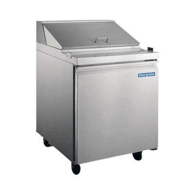 Sandwich-Salad Prep 6 cu. ft. Commercial Refrigerator in Stainless Steel