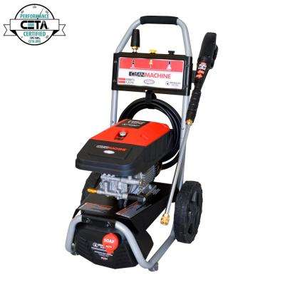 Clean Machine by 2300 PSI at 1.2 GPM Cold Water Residential Electric Pressure Washer