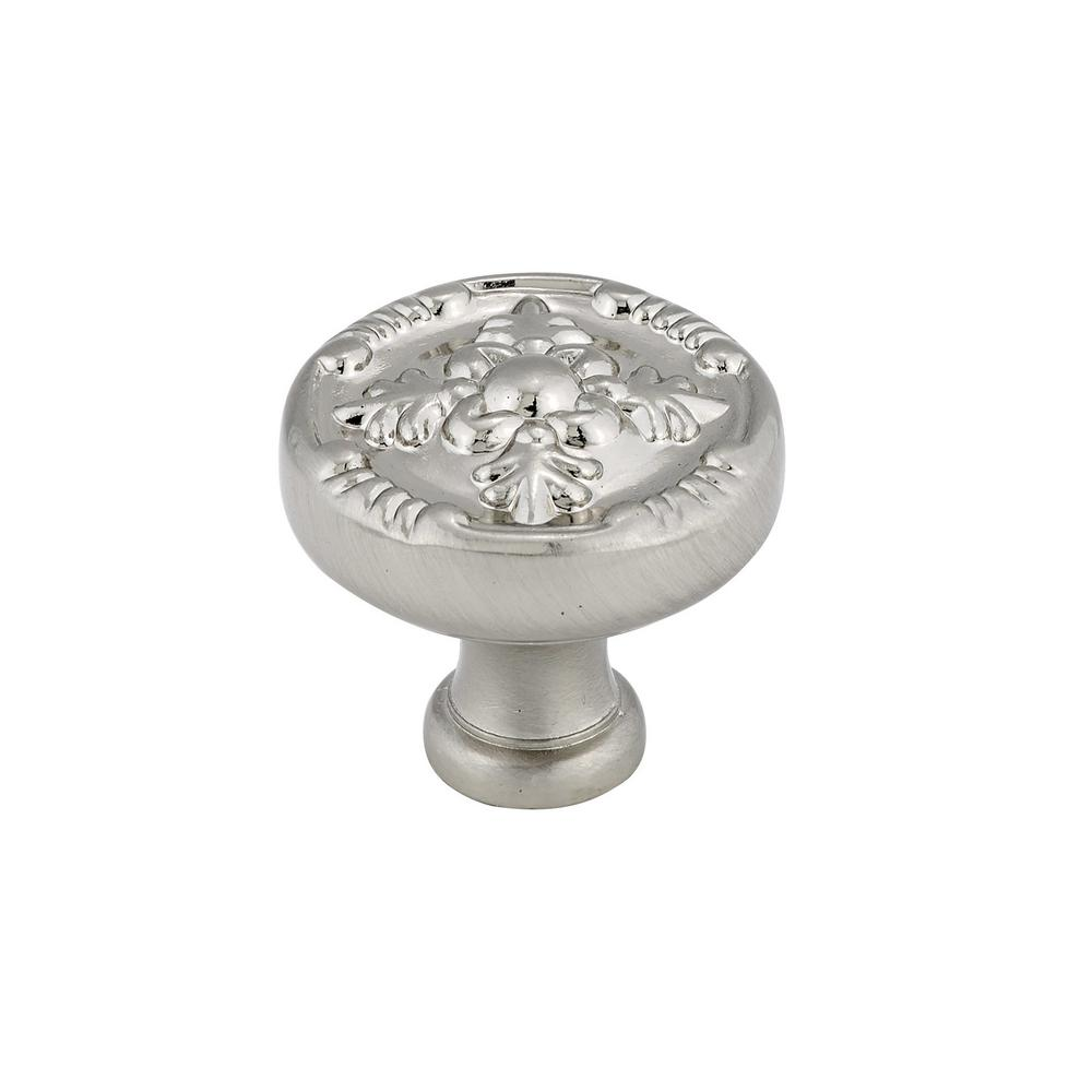 1-17/64 in. Brushed Nickel Cabinet Knob