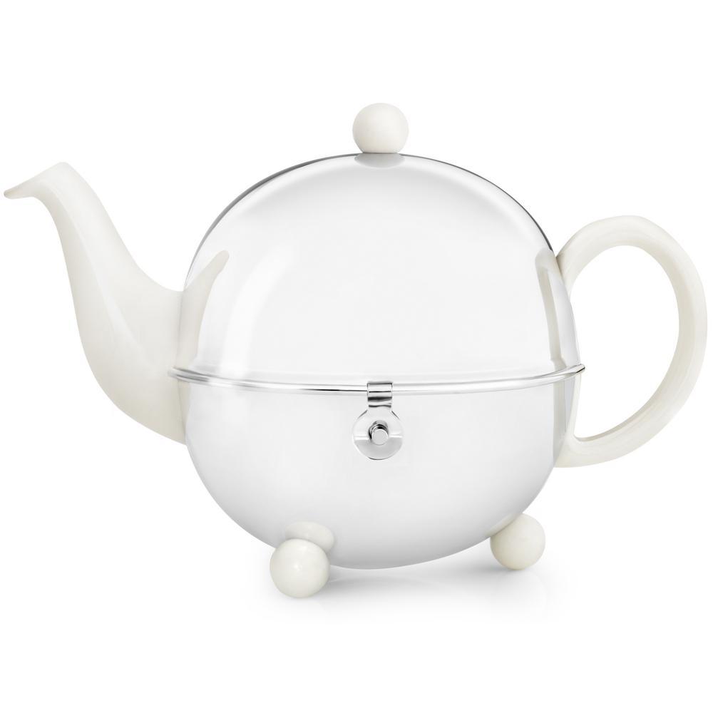 44 fl. oz. Spring White Cosy Teapot
