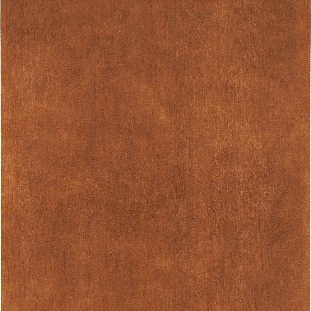 American Woodmark 14-9/16x14-1/2 in. Cabinet Door Sample in Hanover Maple Cognac