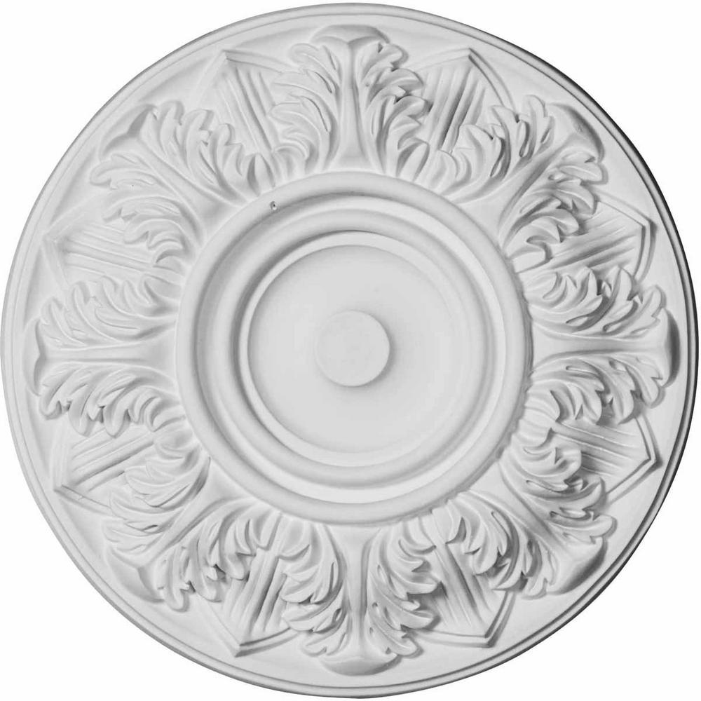 13 in. O.D. x 1-3/8 in. Whitman Ceiling Medallion