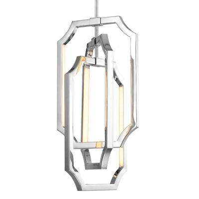 Audrie 6-Light Polished Nickel Chandelier