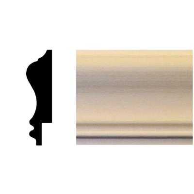 3/4 in. x 2-3/4 in. x 96 in. Basswood Wainscot Chair Rail Moulding