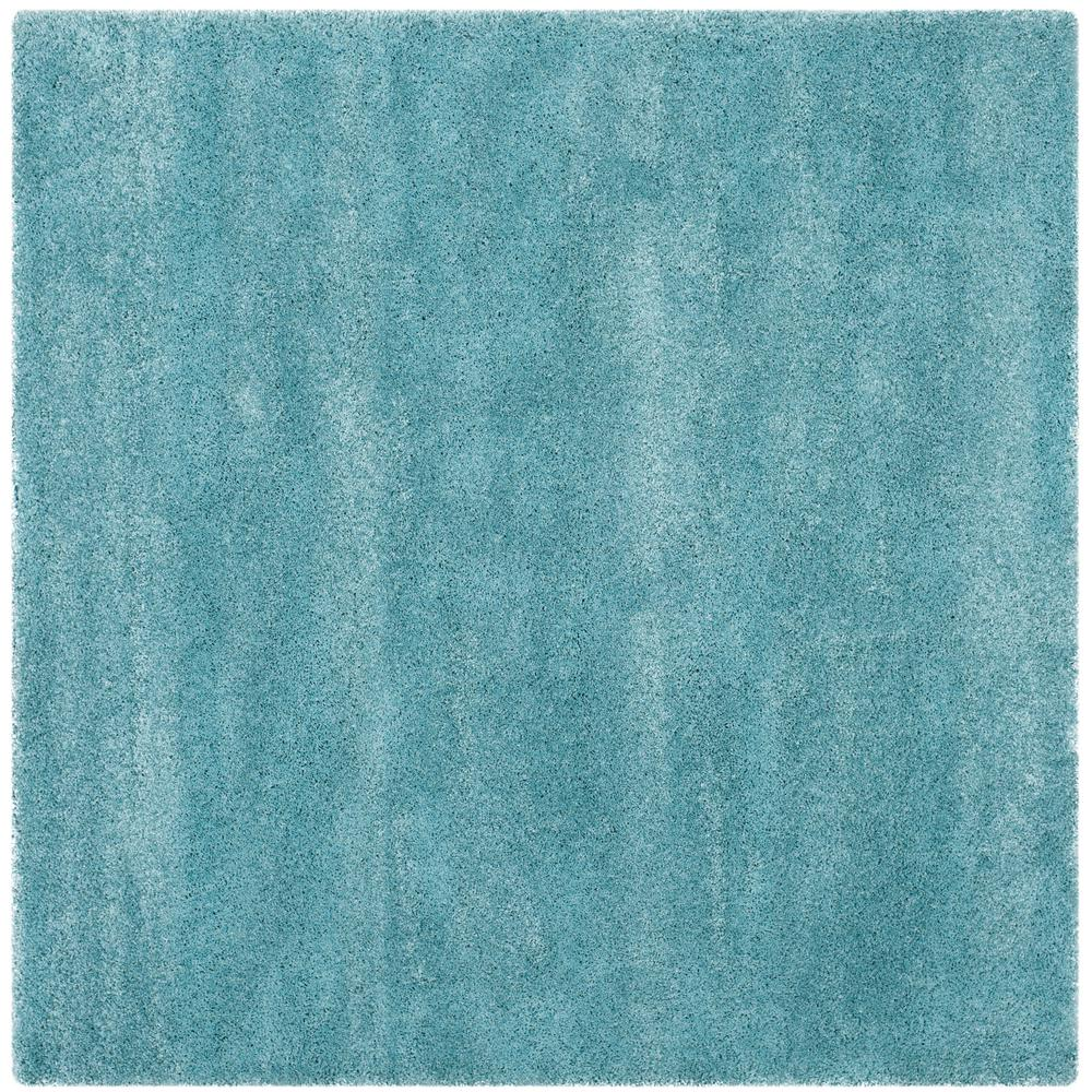 Safavieh Milan Shag Aqua Blue 10 Ft X 10 Ft Square Area