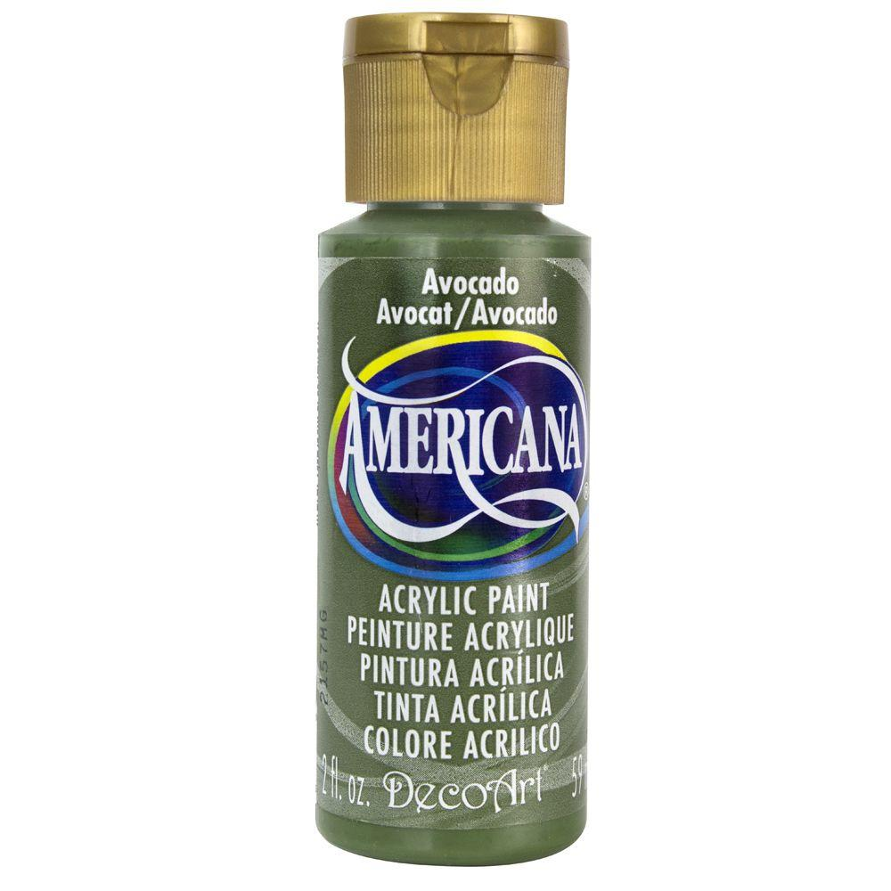 Americana 2 oz. Avocado Acrylic Paint