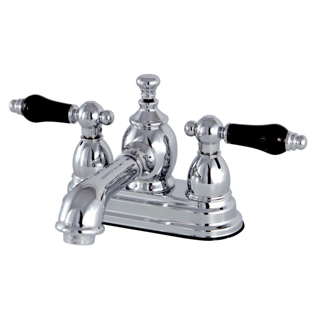 Kingston Brass Duchess 4 in. Centerset 2-Handle Bathroom Faucet in Chrome