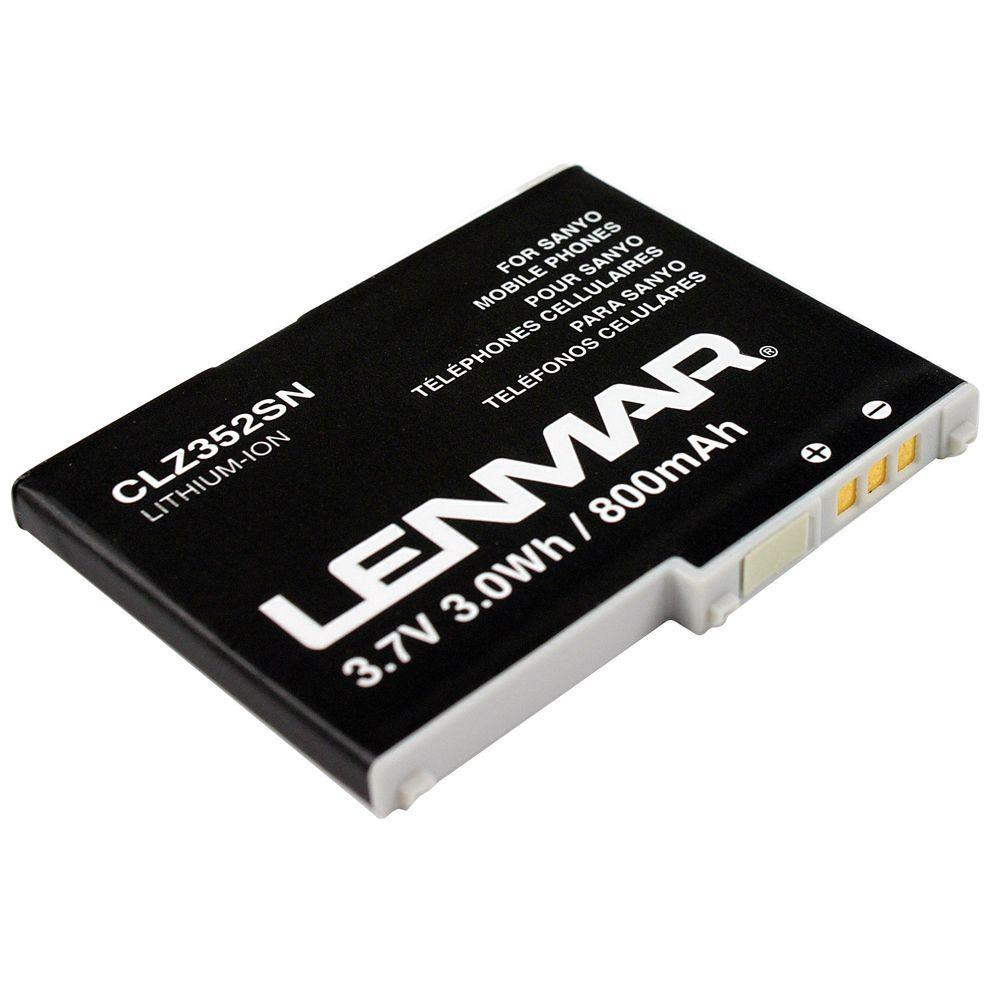 Lenmar Lithium Ion 800mAh/3.7-Volt Mobile Phone Replacement Battery