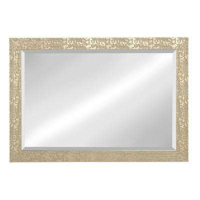 Coolidge Rectangle Gold Mirror