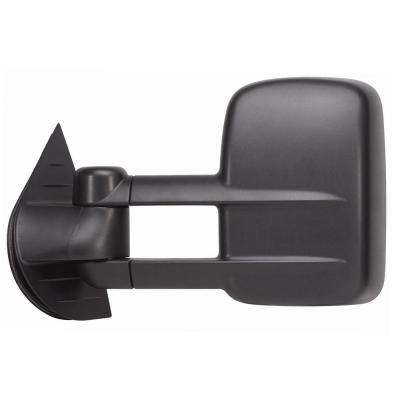 Towing Mirror for 07-14 Escalade/Silverado/Sierra/Hybrid/Tahoe/Yukon 07-13 Avalanche Dual Lens Black LH