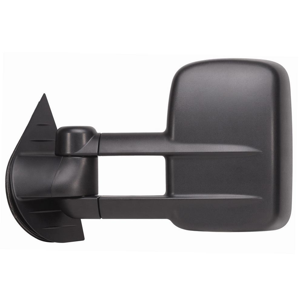 Towing Mirror for 07-14 Escalade/Silverado/Sierra/Hybrid/Tahoe/Yukon 07-13 Avalanche Dual Lens Black LH