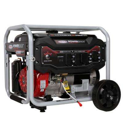 8,300-Watt Gasoline Powered Electric Start Portable Generator