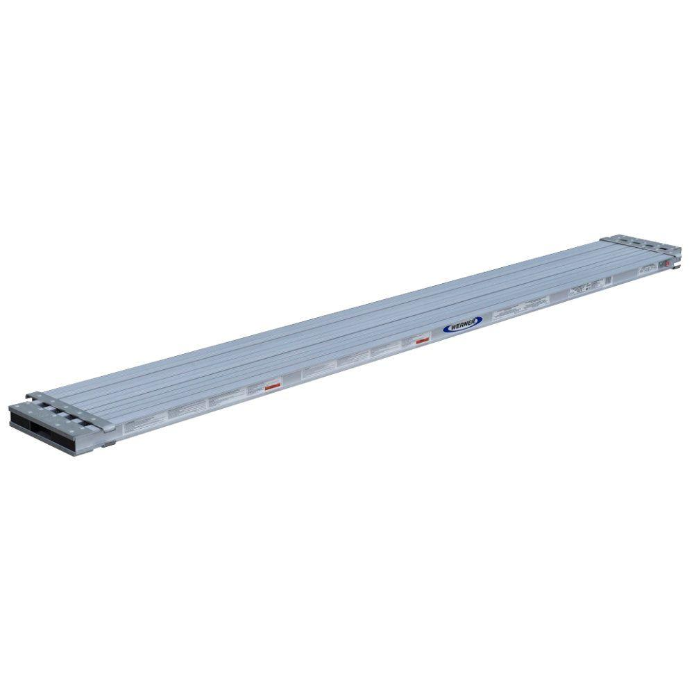10 ft. to 17 ft. Aluminum Extension Plank