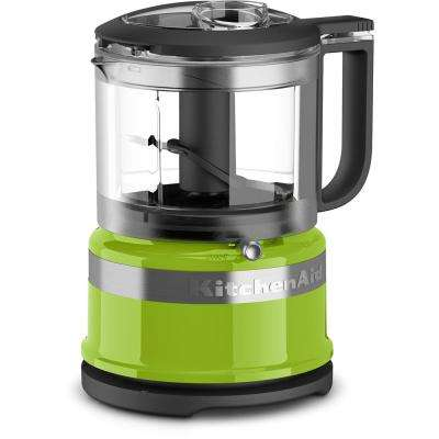 Mini 3.5-Cup 2-Speed Green Apple Food Processor with Pulse Control