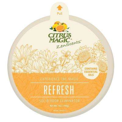 ZenScents 7 oz. Refresh Aromatherapy Solid Air Freshener  (Pack of 3)