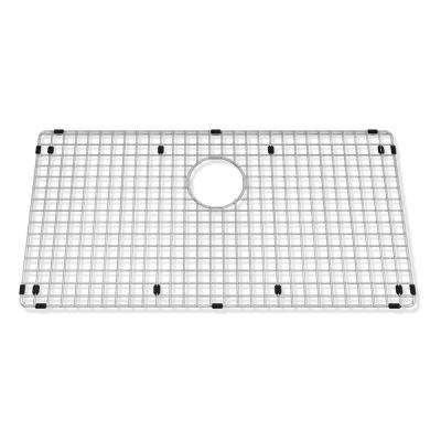 Prevoir 29 in. x 15 in. Kitchen Grid Rack in Stainless Steel