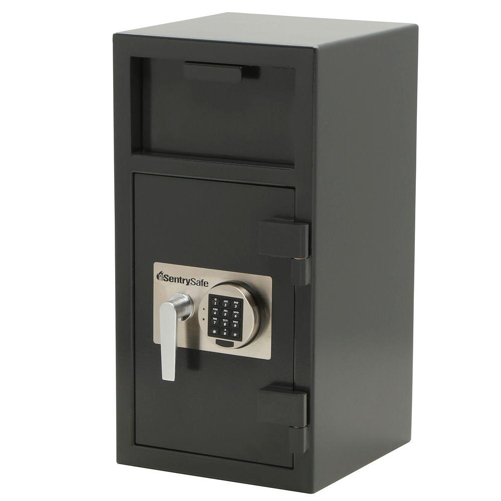 SentrySafe Depository Safe 1.6 cu. ft. Electronic Lock Safe Drop Slot Safe
