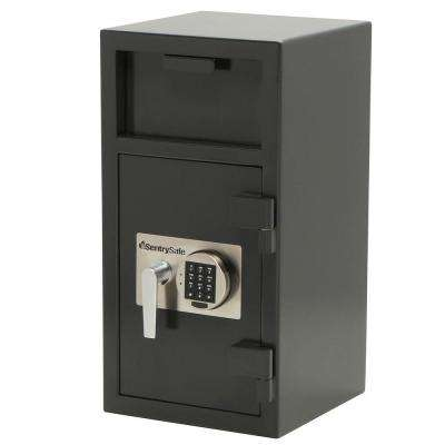 Depository Safe 1.6 cu. ft. Electronic Lock Safe Drop Slot Safe