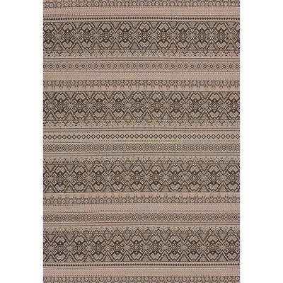 Alfresco Silver 3 ft. x 4 ft. Indoor/Outdoor Area Rug
