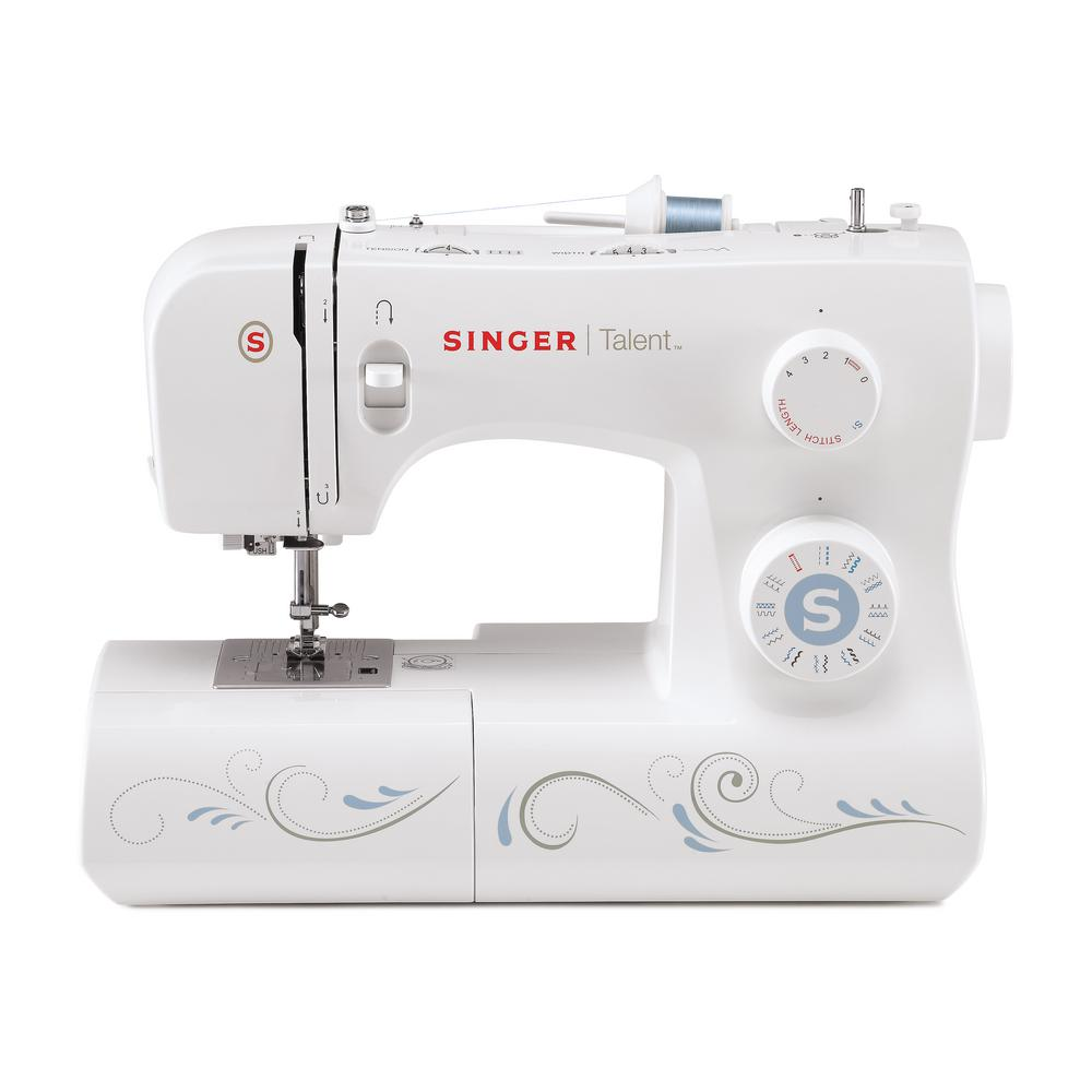 Singer Talent 23-Stitch Sewing Machine with Automatic Needle ...
