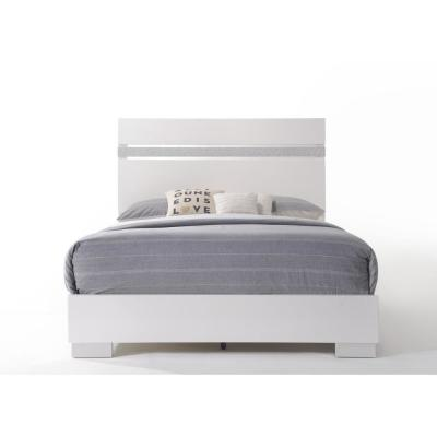 Naima II White Eastern King Bed