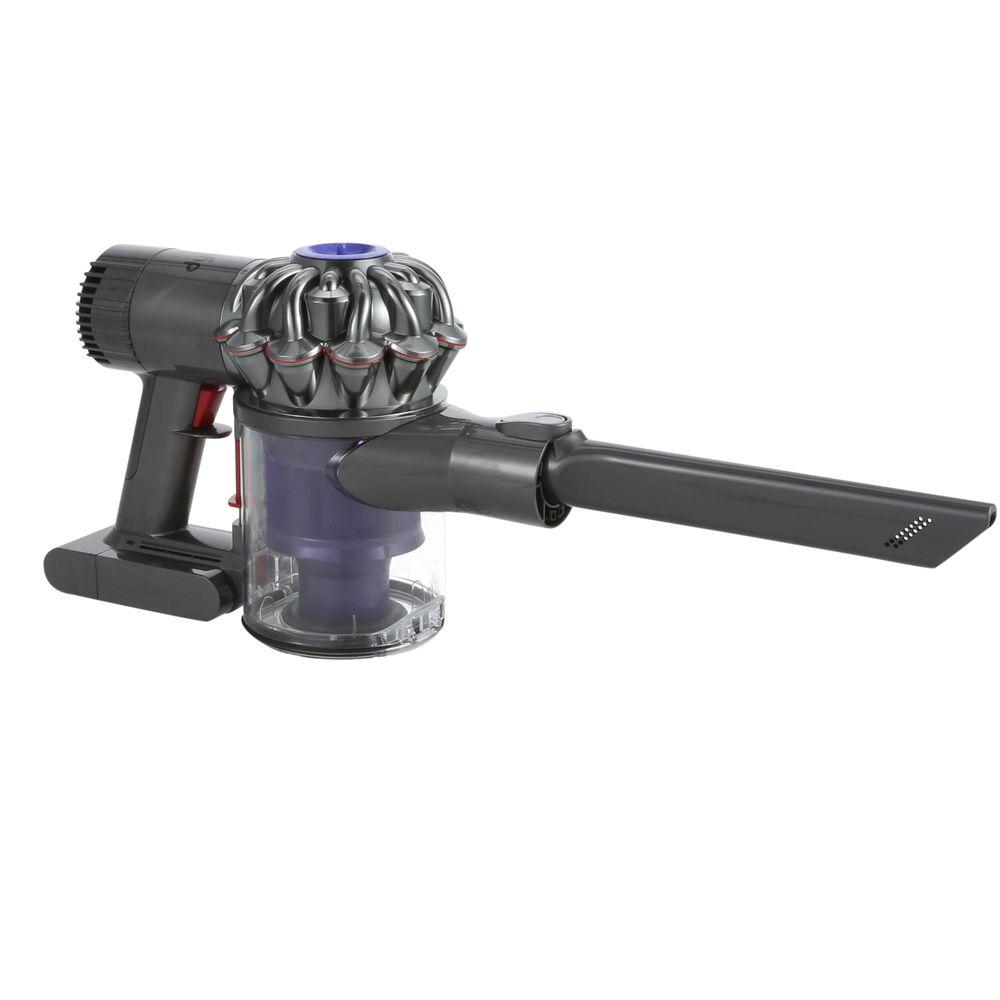dyson v6 trigger handheld vacuum 204720 01 the home depot. Black Bedroom Furniture Sets. Home Design Ideas