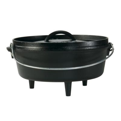 4 Qt. Cast Iron Dutch Oven With Lid and Bail Handle