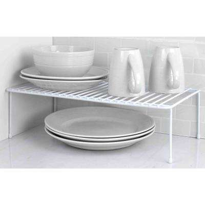 White Vinyl Coated Steel Dish Rack