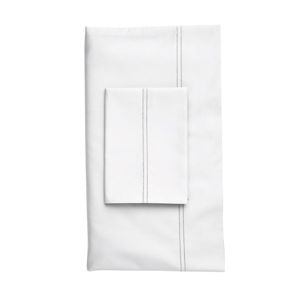 The Company Store Legends White Egyptian Cotton King Pillowcase (Set of