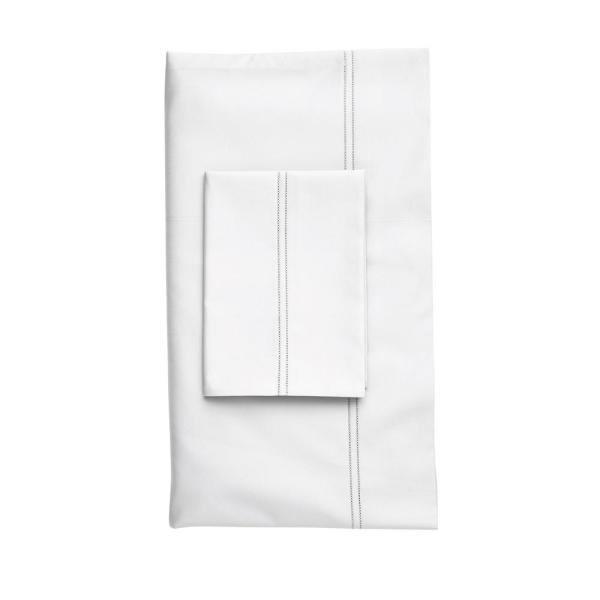 The Company Store Legends White Egyptian Cotton Standard Pillowcase (Set of
