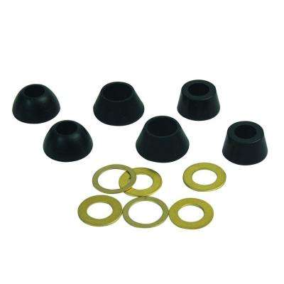 Water Supply Rubber Cone Washer Assortment