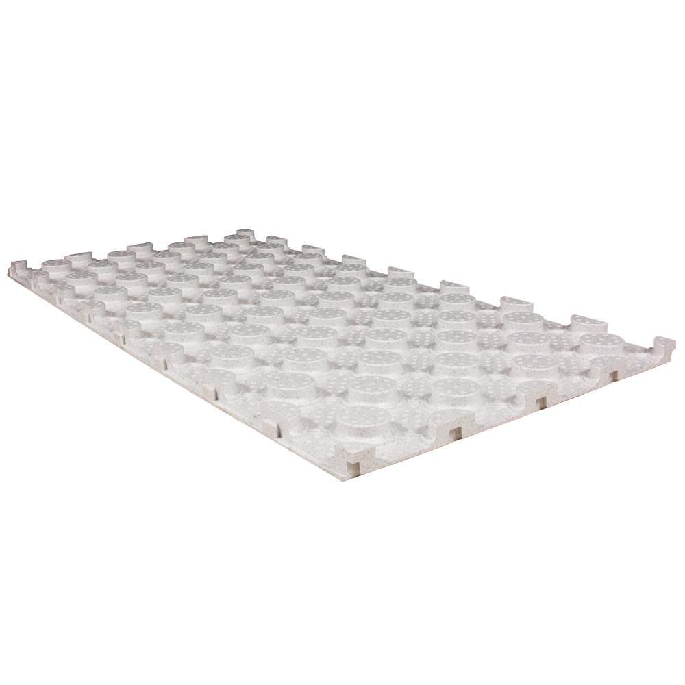 Bekotec 2 ft. x 4 ft. x 1.375 in. Studded Screed