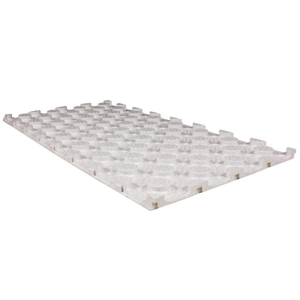 Bekotec 2 ft. x 4 ft. x 1.375 in. Studded Screed Panel Underlayment for Tile