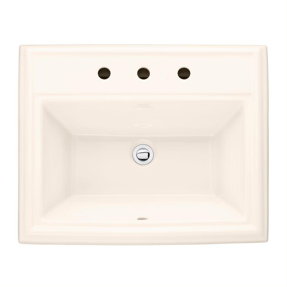 American Standard Town Square Self-Rimming Bathroom Sink and in Linen-DISCONTINUED